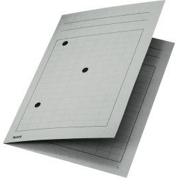 LEITZ Umlaufmappe, DIN A4, Manilakarton 320 g/qm, grau