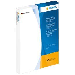 HERMA Haftetiketten DP1, 12 x 30 mm, weiß,für Druckmaschinen