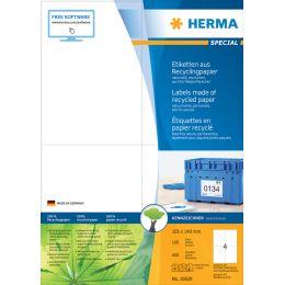 HERMA Universal-Etiketten Recycling, 99,1 x 38,1 mm