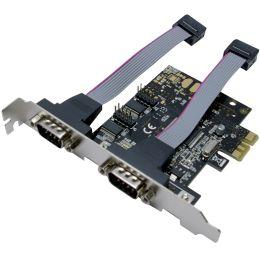 LogiLink Serielle RS-232 PCI-Express Karte, 2 Port