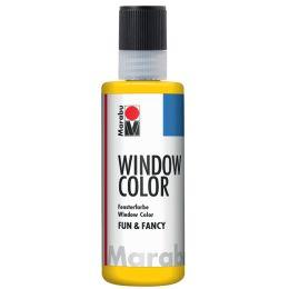 Marabu Window Color fun & fancy, 80 ml, gelb