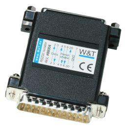 W&T Optischer Isolator RS232 - 4 KV, 0 - 115.200 Baud