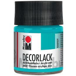 Marabu Acryllack Decorlack, orange, 50 ml, im Glas