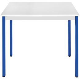 SODEMATUB Universaltisch 76RGBL, 700 x 600, lichtgrau/blau