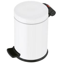 Hailo Tret-Kosmetikeimer Solid S, 4 Liter, weiß