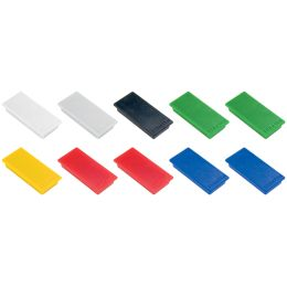 FRANKEN Haftmagnet, Haftkraft: 1.000 g, 50 x 23 mm, weiß