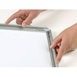 Bi-Office Plakatrahmen, aus Aluminium, DIN A4