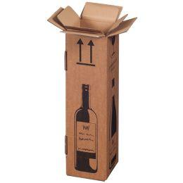 SMARTBOXPRO Flaschen-Versandkarton, für 2 Flaschen