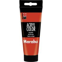 Marabu Acrylfarbe AcrylColor, schwarz, 100 ml