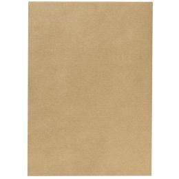 herlitz Packpapier, Bogenware, 700 mm x 1 m, braun