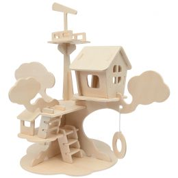 mara by Marabu 3D Puzzle Baumhaus