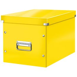 LEITZ Ablagebox Click & Store WOW Cube M, gelb