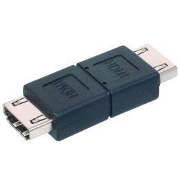 DIGITUS HDMI Adapter, HDMI-A Kupplungen, schwarz