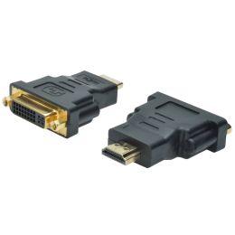 DIGITUS HDMI Adapter, HDMI-A - DVI-I, schwarz
