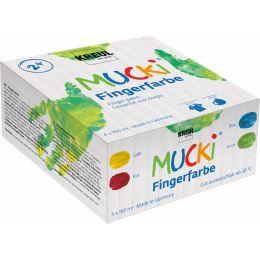 KREUL Fingerfarbe MUCKI, 150 ml, 4er-Set