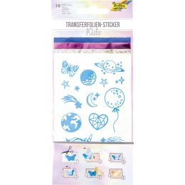 folia Transferfolie-Sticker KIDS, 16 Stück