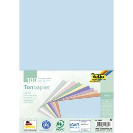 folia Tonpapier PASTELL, DIN A4, 130 g/qm