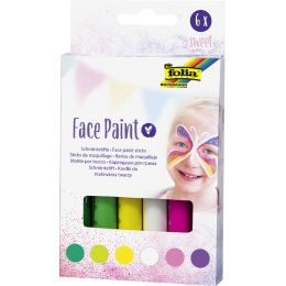 folia Schminkstifte Face Paint Set SWEET