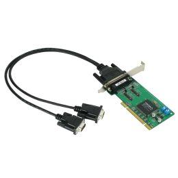 MOXA Serielle 2 x RS-422 / 485 PCI Karte, 2 Port