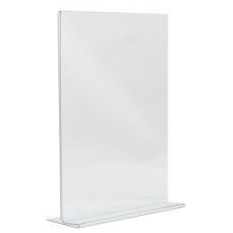 Securit Tischaufsteller Acrylic, DIN A6 hoch, gerade