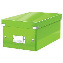 LEITZ DVD-Ablagebox Click & Store WOW, grün