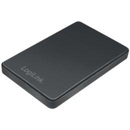 LogiLink 2,5 SATA Festplatten-Gehäuse, USB 3.0, schwarz