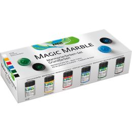 KREUL Marmorierfarbe Magic Marble, Set Grundfarben