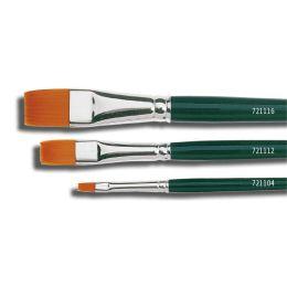 KREUL Haarpinsel Hobby Line BASIC, Nylon, flach, Gr. 0
