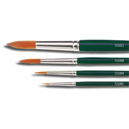 KREUL Haarpinsel Hobby Line BASIC, Nylon, rund, Gr. 0