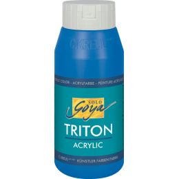 KREUL Acrylfarbe SOLO Goya TRITON, citron, 750 ml
