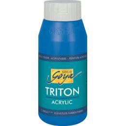 KREUL Acrylfarbe SOLO Goya TRITON, primärblau, 750 ml