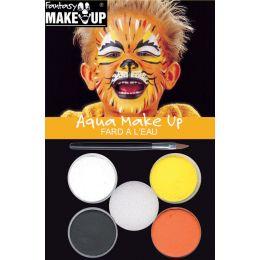 KREUL Schminkfarben-Set Fantasy Make Up, Tiger