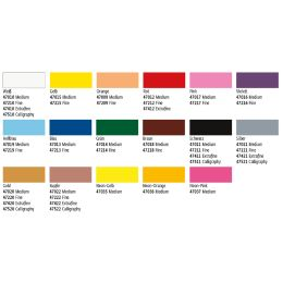 KREUL Lackmarker Gloss Paint Marker, medium, neonorange