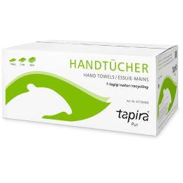 Tapira Handtuchpapier Pur, 250 x 230 mm, V-Falz, natur