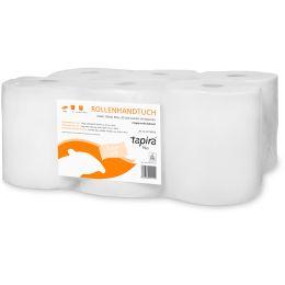 Tapira Handtuchrolle Plus, 2-lagig, weiß, 140 m