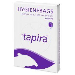 Tapira PE-Hygienebeutel für Spender, weiß