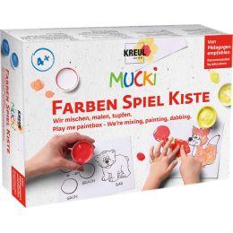 KREUL Fingerfarbe MUCKI, 5 x 50 ml Set