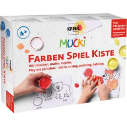 KREUL Fingerfarbe MUCKI, 5 x 50 ml Set