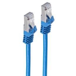 shiverpeaks BASIC-S U/FTP Flach-Patchkabel, Kat. 6A, 0,50 m