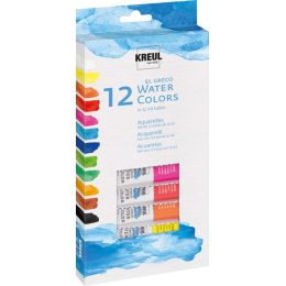 KREUL Aquarellfarbe el Greco, 12 ml, 12er-Set