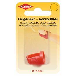 KLEIBER Fingerhut, rot, für lange Fingernägel