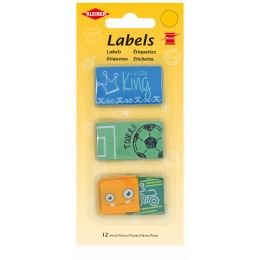 KLEIBER Stoff-Labels Jungen, 25 x 25 mm