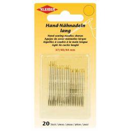 KLEIBER Hand-Nähnadel-Set, 20-teilig, lang