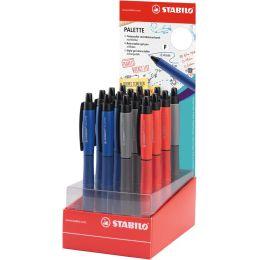 STABILO Tintenroller Palette, 16er Thekendisplay