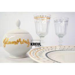 KREUL Glass & Porcelain Pen Metallic, 5er-Set