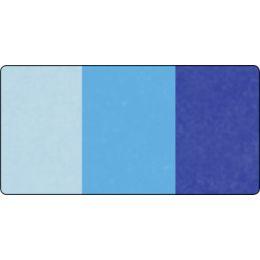 folia Seidenpapier-Rolle, 500 x 700 mm, Sortierung blau