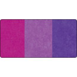 folia Seidenpapier-Rolle, 500 x 700 mm, Sortierung violett