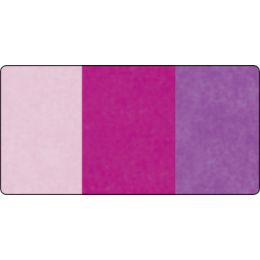folia Seidenpapier-Rolle, 500 x 700 mm, Sortierung rosa