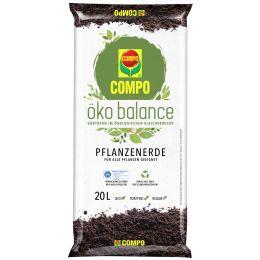 COMPO öko balance Pflanzenerde, 40 Liter