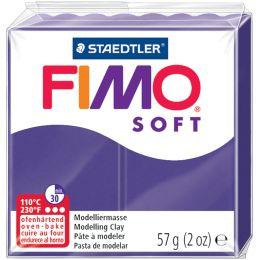 FIMO SOFT Modelliermasse, ofenhärtend, pflaume, 57 g